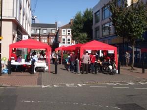 Craft Market Family Day 2012