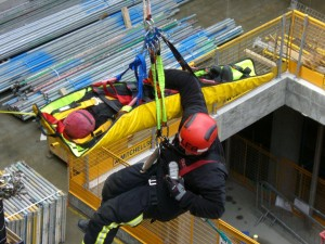 Crane Rescue exercise Goodmana 100