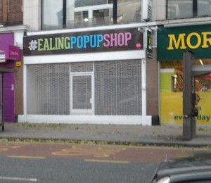 Ealing Pop Up Shop