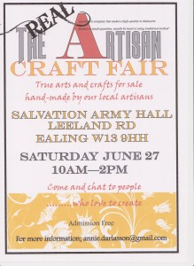 Artisan Craft Fair June 2015 001